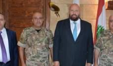 نهرا عرض مع قائد منطقة الشمال العسكرية الوضع الامني