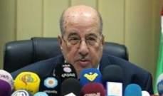 الزعنون لبري:نتطلع لحكمتكم في معالجة الآثار الناتجة عن قرار وزير العمل