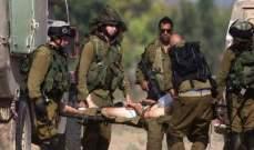 إصابتان خطيرتان في صفوف جنود الجيش الإسرائيلي بإطلاق نار جنوب مدينة نابلس