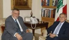 السنيورة عرض مع كوبيتش الاوضاع والعلاقات مع الامم المتحدة