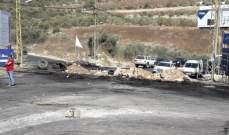 الجيش فتح طريق البوار وطرق غزير وزوق مصبح جونية لا تزال مقفلة