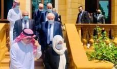 بخاري التقى وفدا من تيار المستقبل