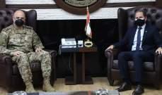قائد الجيش استقبل سامي الجميل وبحث معه الأوضاع العامة في لبنان