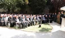 الرئيس عون: المصالحة التي حصلت لن تهتز وان إختلفنا سياسياً