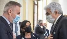 الدفاع الإيطالية عن لقاء حتي- غويريني: لبنان يمر بمرحلة دقيقة وسنستمر بدعمه