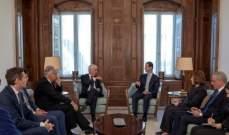 الأسد: الدول التي عملت على تأجيج الحرب تمنع عودة السوريين الى بلدهم