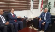 جبق: سنقدم كل ما لدينا من إمكانات لتعزيز التعاون ودعم العراق