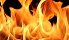 النشرة: انفجار لغم أرضي مضاد للآليات بسبب حريق بالقرب من مسجد في العباسية