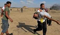 إصابة 38 فلسطينيا برصاص الجيش الإسرائيلي شرقي قطاع غزة