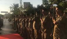 بو صعب وصل إلى عبرا لرعاية احتفال تكريمي للجيش وشهدائه