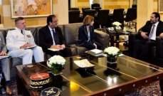 الحريري عرض مع وزيرة الدفاع الفرنسية سبل التعاون بين البلدين