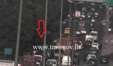 التحكم المروري: حادث تصادم بين 3 مركبات آخر جسر الدورة والاضرار مادية