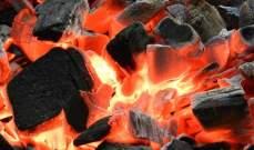 النشرة: احتراق معمل فحم في النبطية واختناق عاملين فيه
