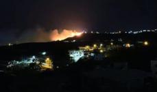 حريق في خراج جديدة القيطع والدفاع المدني يحاول السيطرة عليه لإخماده