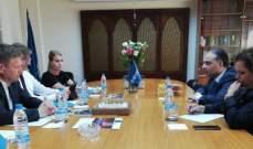 وفد من الخارجيّة الدنماركيّة زار مجلس كنائس الشرق الأوسط