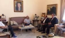 البزري استقبل وفد حركة حماس: الأولوية لإسقاط صفقة القرن