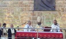 الهاشم احتفل بعيد مار يوحنا:نصلّي لبقاء الجبل ولبقاء لبنان بلد الحرية