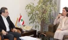 أبو فاعور بحث مع لاسن زيادة الصادرات الى اوروبا