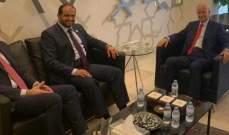 حسن وعبد الرحيم مراد بحثا مع سفير الإمارات الأوضاع العامة في البلاد