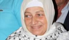 بهية الحريري التقت وفدا من حماس في مجدليون