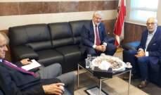 شهيب: الأولوية لدعم الجامعة اللبنانية وللاسراع بإقرار قانون جودة التعليم العالي الخاص
