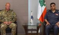 اللواء عثمان التقى ضابطا من لجنة مراقبة الهدنة  بالامم المتحدة