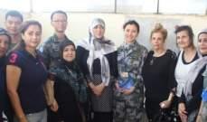 فريق طبي من الكتيبة الصينية زار مركز الخدمات الانمائية في صور لتقديم الدعم