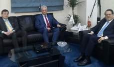 شقير بحث وسفير هنغاريا في التعاون الاقتصادي