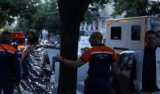 مقتل ثلاثة أشخاص في حريق مبنى بوسط باريس
