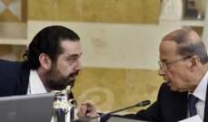 مصادر الشرق الاوسط:التسوية السياسية بحاجة ماسة إلى رافعة لإنقاذها