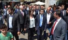الحسن: حريصة على مساندة أي عمل يعود بالنفع على مدينة طرابلس