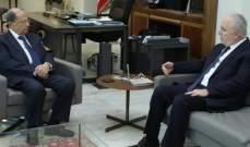 الرئيس عون التقى ضاهر وسفيرة سيرلانكا ورئيس الجامعة الاميركية