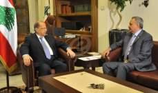 رئيس الجمهورية ميشال عون يلتقي رئيس الحزب الديمقراطي طلال إرسلان غداً
