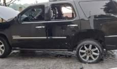 النشرة: إطلاق نار على موكب الوزير صالح الغريب واصابة 3 مرافقين واحدهم بحالة حرجة