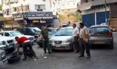 حملة لجمع الاطارات المطاطية المستعملة في طرابلس لاعادة تدويرها في وزارة البيئة