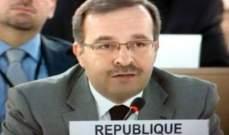 مندوب سوريا بالأمم المتحدة: تركيا تستغل الشأن الإنساني لتغطية دعمها للارهاب