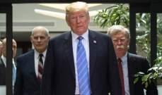 """واشنطن اكزامينر: مؤيدو """"أميركا أولا"""" يرون أن ترامب أنقذ رئاسته من بولتون قرار التراجع عن ضرب إيران"""