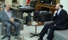 الرياشي سلم الرئيس عون رسالة من جعجع تناولت التطورات السياسية الراهنة