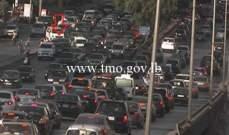 حادث تصادم اول جسر الدورة المسلك الغربي وحركة المرور كثيفة