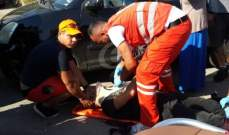 """النشرة: جريح في حادث صدم عند مستديرة ساحة """"الشهداء"""" صيدا"""