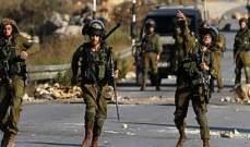 الجيش الاسرائيلي يعتقل 11 فلسطينيا في الضفة الغربية