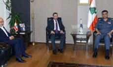 اللواء عثمان عرض الأوضاع العامة في البلاد مع النائب السابق عماد الحوت