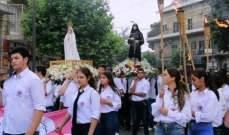 مسيرة صلاة من دير سيدة النجاة بكفيا الى تلة القديسة رفقا حملايا