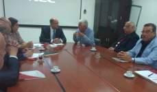 وزير الزراعة استقبل وفداً من المجلس اللبناني لمصنعي الحليب ومشتقاته