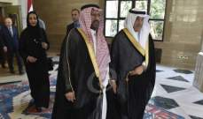 أوساط الوفد السعودي للجمهورية: الزيارة إلى لبنان لها تتماتها في القريب العاجل