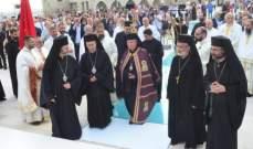 العبسي ترأس قداس رسامة 4 كهنة في دير المخلص: الكاهن ليس موظفا