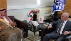 فنيانوس التقى فنيش والحاج حسن وعرض مع البخاري العلاقات بين البلدين