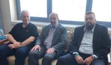 احمد الحريري زار  المفتي الميس في مستشفى الروم للاطمئنان على صحة