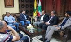 """""""حزب الله"""" إستقبل وفدا قياديا من""""حماس"""": نحن في خندق واحد ضد الاعداء"""