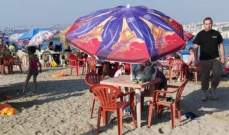 شرطة بلدية صيدا نظمتحملة توعية على نظافة مرفق زيرة صيدا البحري المجاني